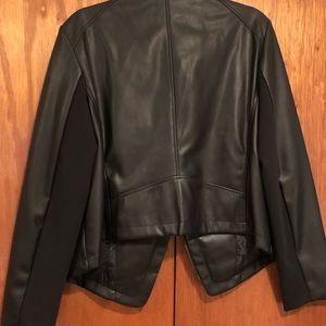 DKNY faux leather jacket